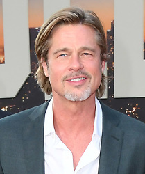 July 22, 2019 - Hollywood, California, USA - 22 July 2019 - Hollywood, California - Brad Pitt. ''Once Upon A Time In Hollywood'' Los Angeles Premiere held at The TCL Chinese Theatre. Photo Credit: Birdie Thompson/AdMedia (Credit Image: © Birdie Thompson/AdMedia via ZUMA Wire)