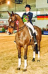 , Hannover - Europahallen Reitturnier 31.01. - 02.02.1997, Contrast 2 - Henkel, Marion