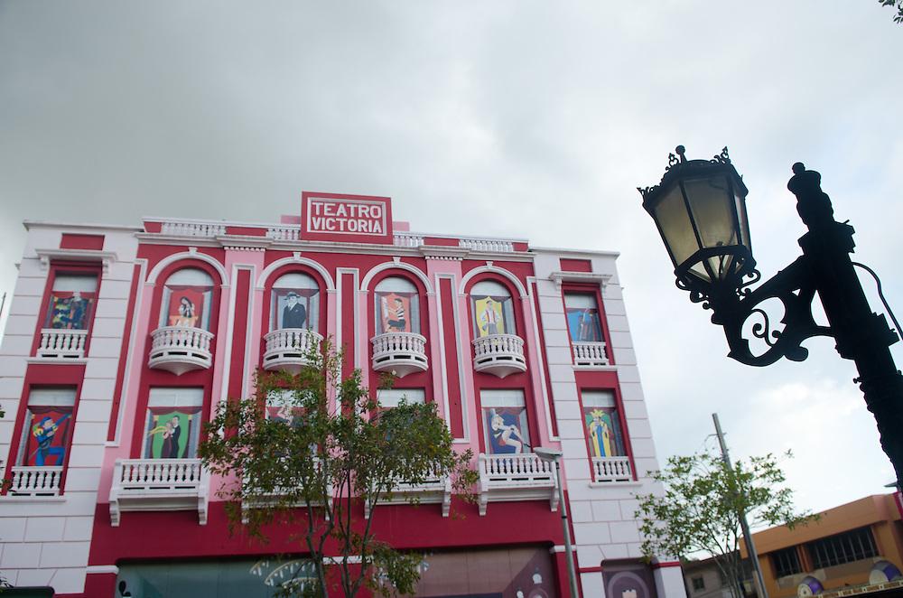 Antiguo Teatro Victoria en el Municipio Autonomo de Humacao.