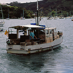 New Zealand Fishing Boat in the Bay of Islands