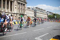 the La Course, a 89 km road race in Paris on July 24, 2016 in France.