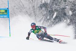 Ryan Cochran-Siegle of USA during 1st run of Men's Giant Slalom race of FIS Alpine Ski World Cup 57th Vitranc Cup 2018, on 3.3.2018 in Podkoren, Kranjska gora, Slovenia. Photo by Urban Meglič / Sportida