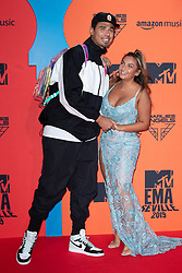 Afrojack and Elettra Miura Lamborghini attend the MTV EMAs 2019 at FIBES Conference and Exhibition Centre on November 03, 2019 in Seville, Spain. Photo by David Niviere/ABACAPRESS.COM