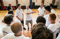 Nejc Visnikar, head coach of Slovenian Deaf Basketball team at media day, on June 13, 2016 in GIB Centre, Ljubljana, Slovenia. Photo by Vid Ponikvar / Sportida