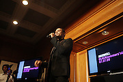 Maxwell at the Maxwell Press conference announcing his first new album in eight years, ' BLACKsummers'night,'  held at The Sony Club on April 28, 2009 in New York City
