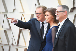 February 24, 2019 - Los Angeles, California, U.S - BRAD BIRD, NICOLE PARADIS GRINDLE AND JOHN WALKER during red carpet arrivals for the 91st Academy Awards, presented by the Academy of Motion Picture Arts and Sciences (AMPAS), at the Dolby Theatre in Hollywood. (Credit Image: © Kevin Sullivan via ZUMA Wire)