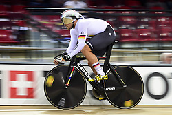 October 21, 2018 - St Quentin En Yvelines, France - Qualifications Sprint / Vitesse Hommes.Maximilian Levy  (Credit Image: © Panoramic via ZUMA Press)