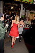 BETH CORDINGLEY AND NATALIE CASSIDY , INTO THE HOODS - a hip hop dance musical -opening  at the Novello Theatre on The Aldwych. After- party at TAMARAI at 167 Drury Lane, London. 27 March 2008.   *** Local Caption *** -DO NOT ARCHIVE-© Copyright Photograph by Dafydd Jones. 248 Clapham Rd. London SW9 0PZ. Tel 0207 820 0771. www.dafjones.com.