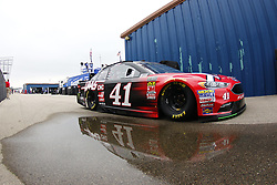 August 10, 2018 - Brooklyn, Michigan, United States of America - Kurt Busch (41) takes to the track to practice for the Consumers Energy 400 at Michigan International Speedway in Brooklyn, Michigan. (Credit Image: © Justin R. Noe Asp Inc/ASP via ZUMA Wire)
