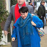 NLD/Naarden/20130329 - Mattheus Passion 2013, Sharon Dijksma en partner Thomas Windmulder