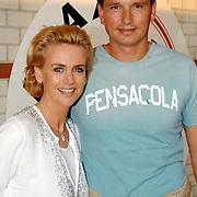 NLD/Amsterdam/20070602 - Toppers in Concert 2007, Daphne Deckers en partner Richard Krajicek