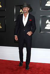 February 12, 2017 - Los Angeles, CA, United States - 12 February 2017 - Los Angeles, California - Tim McGraw. 59th Annual GRAMMY Awards held at the Staples Center. Photo Credit: AdMedia (Credit Image: © AdMedia via ZUMA Wire)