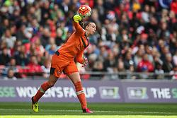 Sari van Veenendaal of Arsenal Ladies - Mandatory byline: Jason Brown/JMP - 14/05/2016 - FOOTBALL - Wembley Stadium - London, England - Arsenal Ladies v Chelsea Ladies - SSE Women's FA Cup