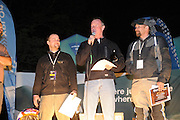 From left, Iain Glynn (Seattle), Bill Dragoo (Norman OK) and Shannon Markle (Laramie WY) are Team USA and the top three finishers for the 2010 BMW GS Trophy.