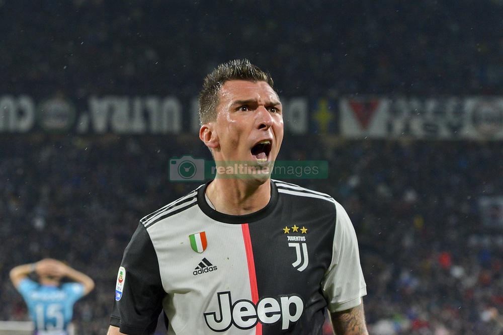 May 19, 2019 - Turin, Turin, Italy - Mario Mandzukic of Juventus FC during the Serie A match at Allianz Stadium, Turin  (Credit Image: © Antonio Polia/Pacific Press via ZUMA Wire)