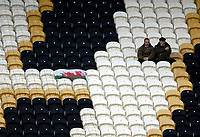 Photo: Jed Wee.<br />Hull City v Cardiff City. Coca Cola Championship.<br />03/12/2005.<br />Cardiff fans makes the long trip up from Wales to North East England.