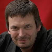 Bestseller author Ian Rankin at the Edinburgh International Book festival 2006<br />