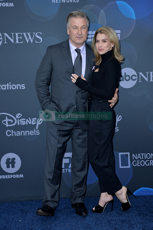 May 14, 2019 - New York, NY, USA - May 14, 2019  New York City..Alec Baldwin and Hilaria Baldwin attending Walt Disney Television Upfront presentation party arrivals at Tavern on the Green on May 14, 2019 in New York City. (Credit Image: © Kristin Callahan/Ace Pictures via ZUMA Press)