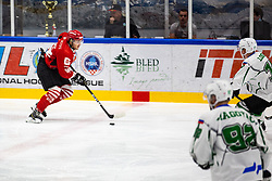 DJUMIC Mirko during summer Hockey League match between HK SZ Olimpija and HDD SIJ Jesenice, on September 12, 2020 in Ice Arena Bled, Bled, Slovenia. Photo by Peter Podobnik / Sportida