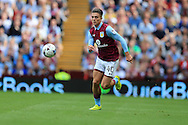 Jack Grealish of Aston Villa in action.EFL Skybet championship match, Aston Villa v Rotherham Utd at Villa Park in Birmingham, The Midlands on Saturday 13th August 2016.<br /> pic by Andrew Orchard, Andrew Orchard sports photography.