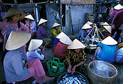 Hoi An daily fish market. Hoi An Town is an exceptionally well-preserved example of a Southeast Asian trading port dating from the 15th to the 19th century. Its ochre coloured buildings and its street plan reflect the influences, both indigenous and foreign, that have combined to produce this UNESCO world heritage site.