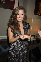 ROSE THOMAS at the Tatler Little Black Book Party at Home House Member's Club, Portman Square, London supported by CARAT on 11th November 2015.