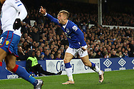 Gerard Deulofeu of Everton appeals for a foul but is declined. Barclays Premier league match, Everton v Crystal Palace at Goodison Park in Liverpool, Merseyside on Monday 7th December 2015.<br /> pic by Chris Stading, Andrew Orchard sports photography.
