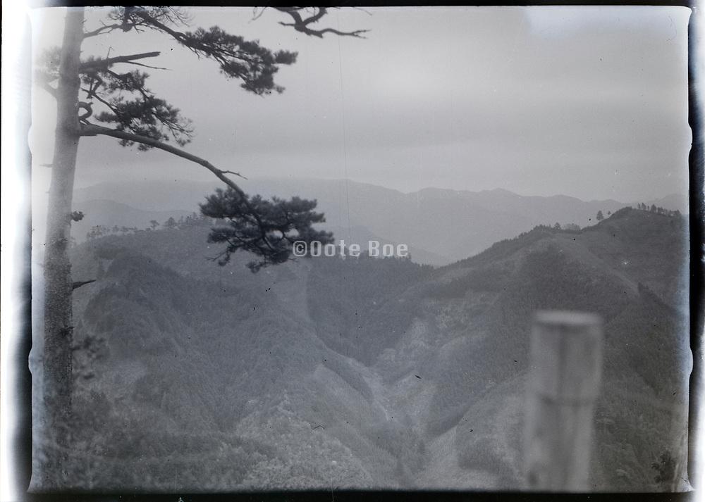 mountain landscape view Japan