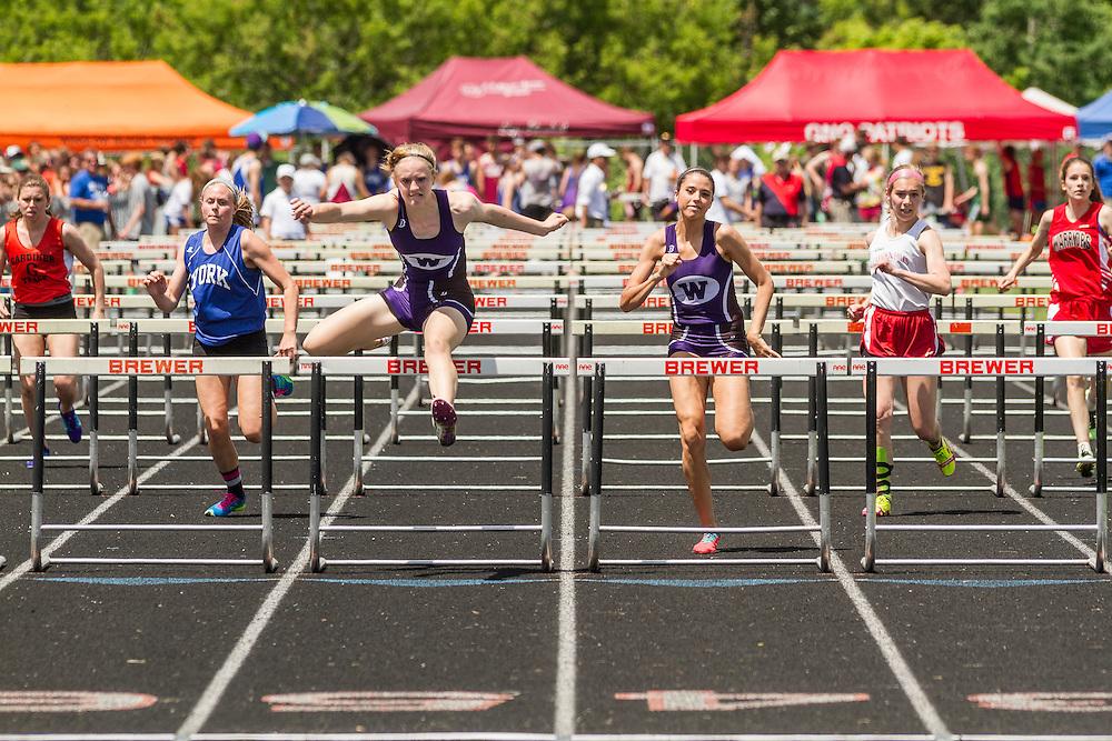 Maine State Track & Field Meet, Class B: girls high hurdles, Sarah Shoulta, Waterville