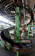Sao Paulo_SP, Brasil...CSN (Companhia Siderurgica Nacional) Unidade Prada de Santo Amaro, Sao Paulo...CSN (National Steel Company) in Prada de Santo Amaro, Sao Paulo...Foto: LEO DRUMOND / NITRO