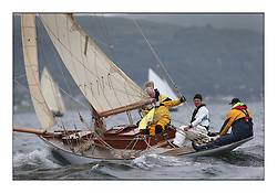 Day one of the Fife Regatta, Round Cumbraes Race.<br /> <br /> Oblio, Gordon Turner, GBR, Gaff Cutter, Wm Fife 3rd, 2007<br /> <br /> * The William Fife designed Yachts return to the birthplace of these historic yachts, the Scotland's pre-eminent yacht designer and builder for the 4th Fife Regatta on the Clyde 28th June–5th July 2013<br /> <br /> More information is available on the website: www.fiferegatta.com