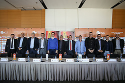 Head coaches at press conference before new season of KZS Nova KBM League 2016/17, on October 04, 2016, in Radisson Blu Plaza Hotel, Ljubljana. Photo by Matic Klansek Velej / Sportida.