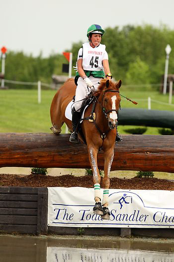 Kylie Lyman and Garrison Flash at the Bromont Three Day Event in Bromont, Quebec, Canada.