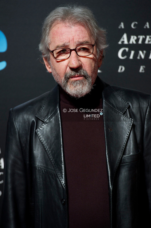 Jose Sacristan attends the Goya Awards Nominated Gala at Teatros del Canal on January 28, 2013 in Madrid, Spain