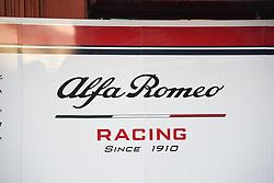 February 18, 2019 - Barcelona, Spain - Alfa Romeo Racing, on February 18, 2019. (Credit Image: © Andrea Diodato/NurPhoto via ZUMA Press)