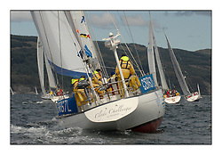 Sailing - The 2007 Bell Lawrie Scottish Series hosted by the Clyde Cruising Club, Tarbert, Loch Fyne..The third days racing on Loch Fyne with a mix of weather from the North and West...CYCA Class 9 Clyde Challenger.
