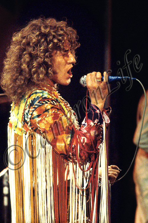 Roger Daltrey – by Charles Everest - Limited Edition Giclee Print – image size 457 x 305 mm on Hahnemuhle 285 gsm Fine Art Pearl Paper. <br /> Signed/Authenticated in border and with unique hologram set to reverse of print and on accompanying Certificate of Authenticity.<br /> Limited to 100 numbered +4 APs at this size in the Edition<br /> For further information or enquiries please contact neil@cameronlife.co.uk