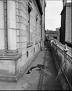 Bank Raid at Arran Quay.<br /> 1970.<br /> 03.04.1970.<br /> 04.03.1970.<br /> 3rd April 1970.