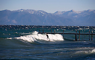 A rare fall treat brings a steady east wind to Tahoe's West Shore. Ryan Russell brings his aloha styles to Tahoe's surf scene.