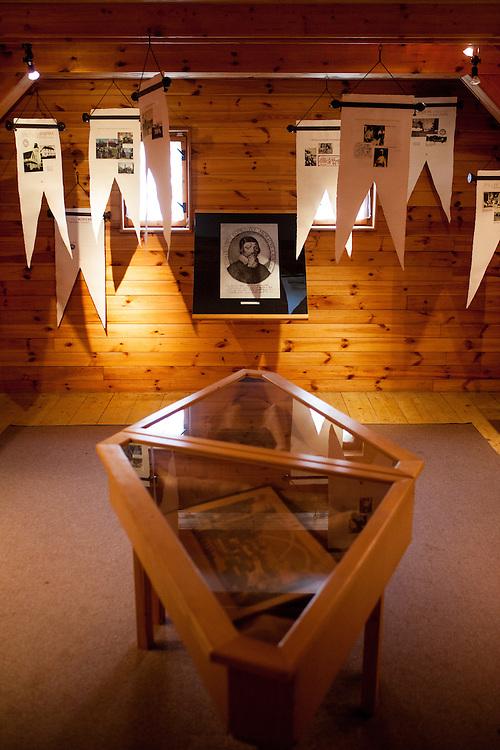 Ausstellung im Haus Na Sboru in Kunvald (deutsch Kunwald) welches an den Beginn der Brüderunität erinnert.