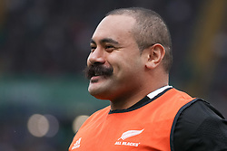 November 24, 2018 - Rome, Rome, Italy - Karl Tuinukuafe during the Test Match 2018 between Italy and New Zealand at Stadio Olimpico on November 24, 2018 in Rome, Italy. (Credit Image: © Emmanuele Ciancaglini/NurPhoto via ZUMA Press)