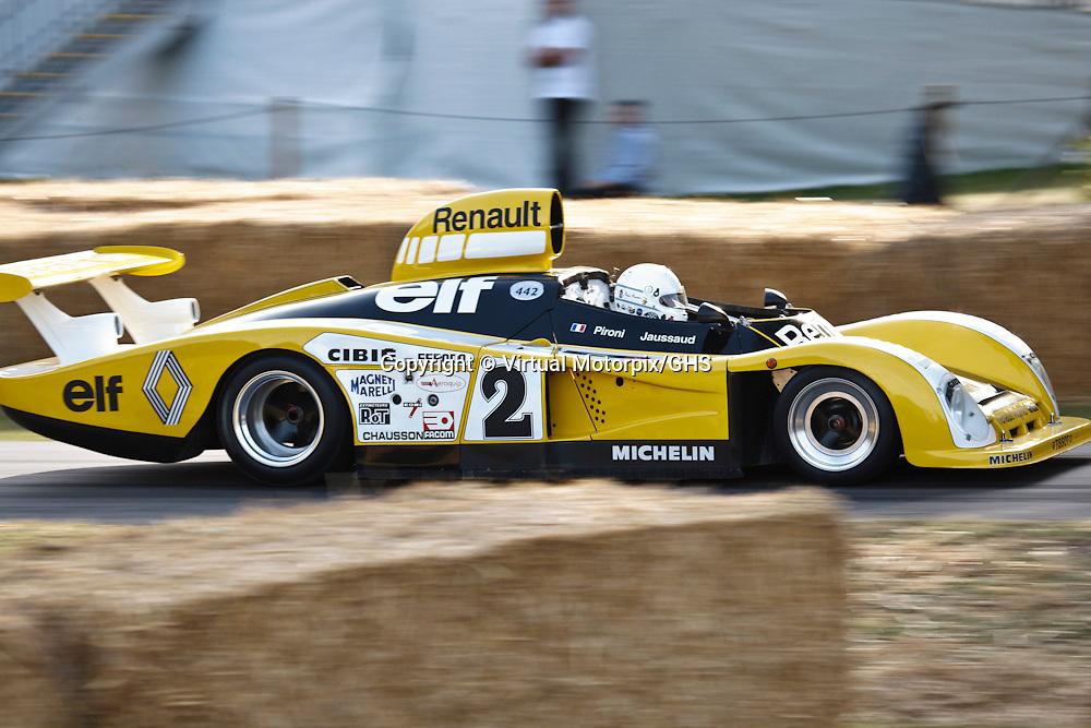 #2 Alpine-Renault A442B, 1978, 2-litre turbocharged V6, Goodwood Festival of Speed 2015