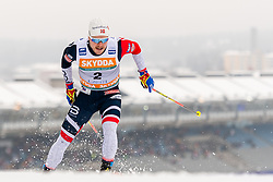 February 9, 2019 - Lahtis, FINLAND - 190209    Sindre BjÂ¿rnestad Skar of Norway competes in the men's sprint qualification during the FIS Cross-Country World Cup on February 9, 2019 in Lahti..Photo: Johanna Lundberg / BILDBYRN / 135947 (Credit Image: © Johanna Lundberg/Bildbyran via ZUMA Press)