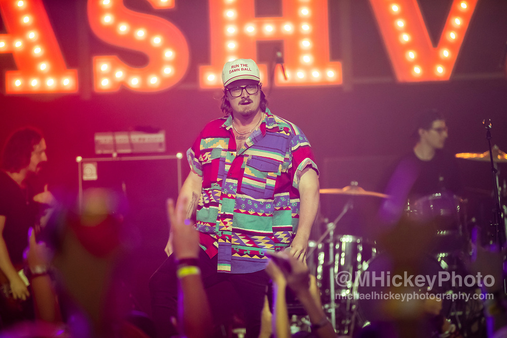CHICAGO, IL - JUN 23: Hardy performs at Lakeshake Music Festival on June 23, 2019 in Chicago, Illinois. (Photo by Michael Hickey/Getty Images) *** Local Caption *** Hardy