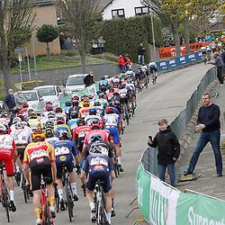 18-04-2021: Wielrennen: Amstel Gold Race men: Berg en Terblijt<br />Peloton Geulhemmerberg