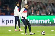 England Jamie Vardy in warm up during the Friendly match between Netherlands and England at the Amsterdam Arena, Amsterdam, Netherlands on 23 March 2018. Picture by Phil Duncan.
