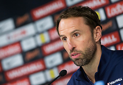 Gareth Southgate, head coach during press conference of England 1 day before football match between National teams of Slovenia and England in Round #3 of FIFA World Cup Russia 2018 qualifications in Group F, on October 10, 2016 in SRC Stozice, Ljubljana, Slovenia. Photo by Vid Ponikvar / Sportida