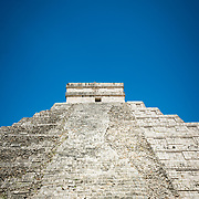 Pyramid at Chichen Itza archeological site, Mexico