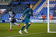 Will Brown of Newcastle United during the EFL Trophy match between Shrewsbury Town and U21 Newcastle United at Greenhous Meadow, Shrewsbury, England on 22 September 2020.