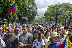 April 30, 2019 - Caracas, Miranda, Venezuela - Guaid— civic-military movement takes over Caracas air base in final phase of Operation Liberty (Credit Image: © Jimmy VillaltaZUMA Wire)